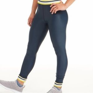 The Upside x Soulcycle yellow rainbow leggings L